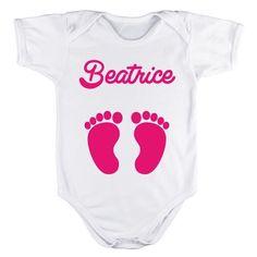 Body per neonato personalizzato con Nome