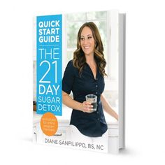 The 21-Day Sugar Detox is a comprehensive, yet simple and effective real-foods based program to help break the chains sugar and carbs have on you.