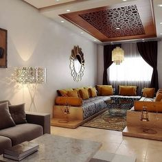 Top 5 Inexpensive Family Room ideas what do you think about this ! Modern Sofa Designs, Sofa Set Designs, Living Room Partition Design, Room Partition Designs, Design Marocain, Living Room Designs, Living Room Decor, Moroccan Interiors, Apartment Interior