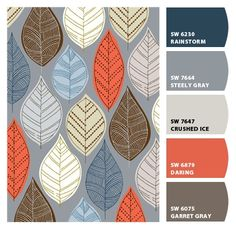 Paint colors from Chip It! by Sherwin-Williams living room to flow into the terra cotta kitchen?