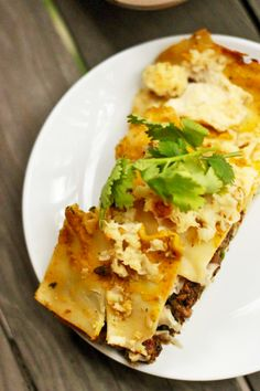 This Vegan Pumpkin Lasagna is bound to be a new fall favorite--it's a hearty entrée bursting with delicious autumnal flavors! By Molly Lansdowne.