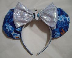 Olaf Mickey Mouse ears by Glitteratheart on Etsy