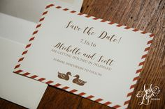 Michelle + Scott's Save the Date | April Lynn Designs | Custom Stationery + Design Studio | Custom Wedding Invitations + Announcements | Philadelphia | #aprillynndesigns #delawarewedding #wedding #thousandacrefarmwedding #thousandacrefarm #middletowndelaware #burntorange #brown #rusticwedding #farmwedding #rustic #summerwedding @1000acrefarm