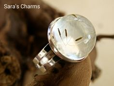 Ring Pusteblume von Sara´s Charms auf DaWanda.com