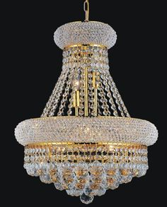 This transitional pendent chandelier trimmed with spotless crystal will add just the right touch to your home. Empire Chandelier, Rectangle Chandelier, Glass Chandelier, Lantern Pendant, Chandelier Lighting, Gold Faucet, Wagon Wheel Chandelier, Clock Art, Wall Molding