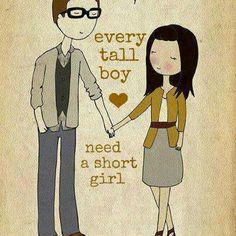 tall guy short girl