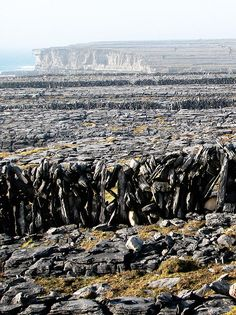 Stones, stones and stones..Aran islands, Ireland