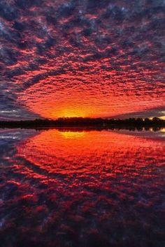 Glorious sunset..........