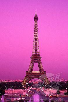 Tour Eiffel (Paris) + Bokeh + Purple + Warmth | Phone backgrounds by ...
