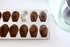 Chocolate Madeleines Recipe+on+Chocolate+%26+Zucchini