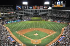 The Ballpark in Arlington, Texas Rangers