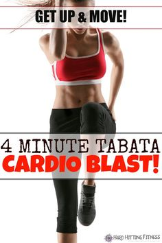 4 MINUTE CARDIO WORKOUT