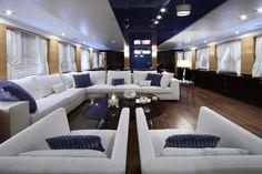 Benetti Yachts, Imagination, Main Deck, Saloon.
