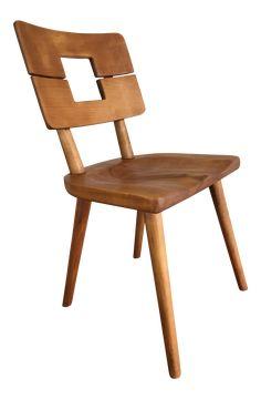 Vintage Mid Century Modern Heywood Wakefield Chair on Chairish.com