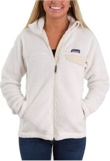 Patagonia Women's Full Zip Re-Tool Jacket in Raw Linen nice for under jacket when skiiing