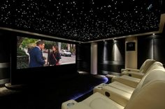 Home theatre demo room, designed by Home Cinema and Beyond, West Midlands UK