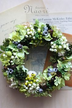 ** wreath