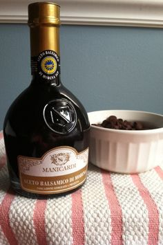 Balsamic Chocolate Sauce - like I need an excuse to a) buy an expensive food item and b) eat ice cream but I'm game!