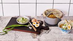 One Pot Lentils with Naan Lid - Rachel Khoo's Kitchen Notebook Melbourne Dhal Recipe, Rachel Khoo, Spicy Soup, Sbs Food, Egg Dish, Cooking Recipes, Vegetarian Recipes, Vegetarian Cooking, Cooking Ideas