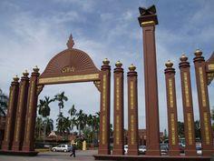 The palace of the Sultan of Kelantan in Kota Bharu