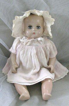Rare Vintage ArranBee (R) Composition Baby Doll
