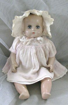 Rare Vintage ArranBee (R) Composition Baby Doll