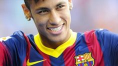 Neymar Photos - Neymar smiles during the official presentation as a new player of FC Barcelona at Camp Nou Stadium on June 2013 in Barcelona, Spain. - Neymar Unveiled as New FC Barcelona Player Neymar Barcelona, Fc Barcelona Players, Barcelona Football, Neymar Jr, Real Madrid, Neymar Images, Sports Predictions, Little Bit, Iker Casillas