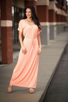 Olivia Boyfriend Maxi Dress