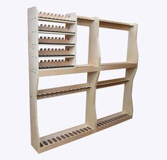 Double Level Vertical Gun Rack with Pistol Storage                                                                                                                                                     More