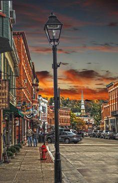 galena, il paintings | ... Town Shops Photograph - Galena Illinois Down Town Shops Fine Art Print