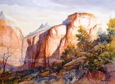 Morning Light on The Sentinel – Giclee Print | Roland Lee