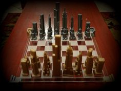 Skyscraper Chess by mienamoo http://thingiverse.com/thing:151430