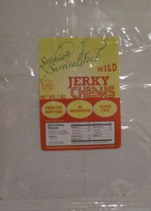 Discover how Sophia's Survival Food - Mild beef jerky fared in a jerky review http://jerkyingredients.com/2014/03/30/sophias-survival-food-mild/ #beefjerky #reviews #food #jerky