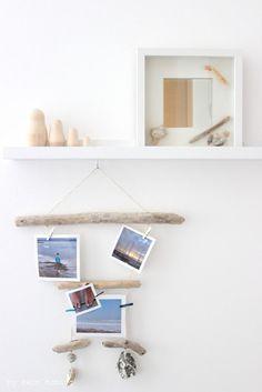 #DIY am Dienstag... ein #Ikea Lampen Hack mit #Holzkugeln... #Treibholz Mobile... #Pimp up your mirror