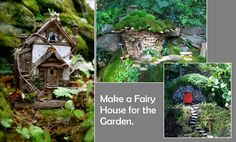 How To Make Fairy Houses | Make a Fairy House for the Garden. | Gardening