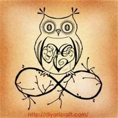 #owl #tattoo AE #inf