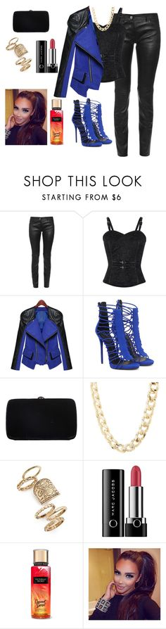 """3"" by adara-aijem on Polyvore featuring Balenciaga, Sergio Rossi, Charlotte Russe, Topshop and Marc Jacobs"