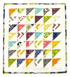 Moda Mini Charm Packs - Fat Quarter Shop's Jolly Jabber