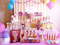 ice cream birthday parties | for more ice cream party ideas and inspirations!