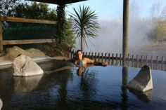 Waikite Valley Thermal Hot Pools - Rotorua Boiling Springs, New Zealand Travel, Campsite, Pools, Sunrise, Activities, Hot, Water, Outdoor Decor