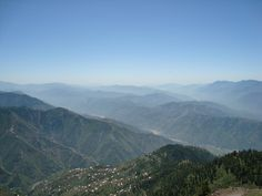 #Layers #View #Muzaffarabad, from Pir Chanasi Peak
