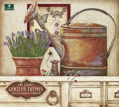 Legacy Publishing Group, Inc. 2015 Wall Calendar, Gentler Thymes by Jo Moulton (WCA13847)