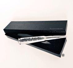 50 Caliber® Bottle Opener CHROME Edition www.ruckgear.com #Chrome #WeddingGifts #Sleek #GroomsmenGifts #RuckGear