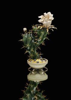 Cactus by Anna Nova Jewellery House, via Behance
