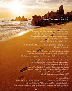 Spuren im Sand poster, hier Klicken für die beste Wiedergabe Tarot kartenlegen online gratis   www.onlinetarotkartenlegen.de/