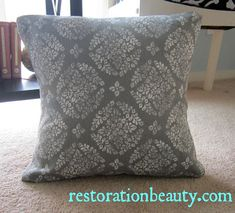Hi everyone! Today I'm going to show you how to whip up your very own removable pillow covers without the aid of a sewing machine! These ar...