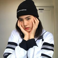 Cute Girls, Cool Girl, Ulzzang Girl, Thailand, Winter Hats, Beanie, Lily, Actresses, Random Pictures