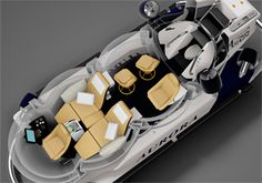 personal small private submarines Aurora 5 person model front view.