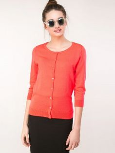 J.D.Y Quarter Sleeve Cardigan available on koovs | cardigan for ...