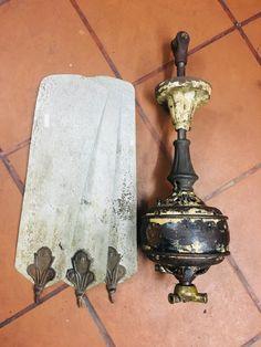 Antique Ceiling Fans, Decorative Bells, Sconces, Wall Lights, Industrial, Lighting, Antiques, Home Decor, Antiquities